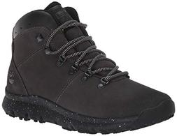 Timberland Men's World Hiker Mid Ankle Boot, Dark Grey, 10.5