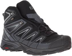 Salomon Men's X Ultra 3 Mid GTX Hiking Boot, Black, 13 M US