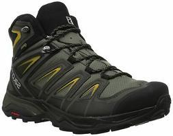 Salomon Men's X Ultra 3 Wide Mid GTX Hiking Boot, Castor Gra