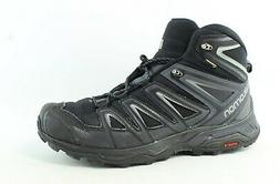 Salomon Men's X Ultra 3 Wide Mid GTX Hiking Boot, Black, 11