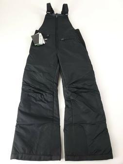Arctix Youth Insulated Snow Bib Overalls, Black, Small/Regul