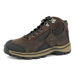 Timberland Youth Kids Lace Up Brown Waterproof Leather Hikin