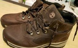 Timberland Youth Lace Up Brown Waterproof Leather Hiking Boo