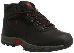 Columbia Unisex Youth Newton Ridge Hiking Shoe, Black, Mount